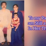 To My Parents, am Still a Child, in Her Thirties